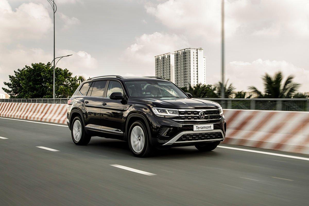VW Teramont 2021 chính thức ra mắt thị trường Việt.