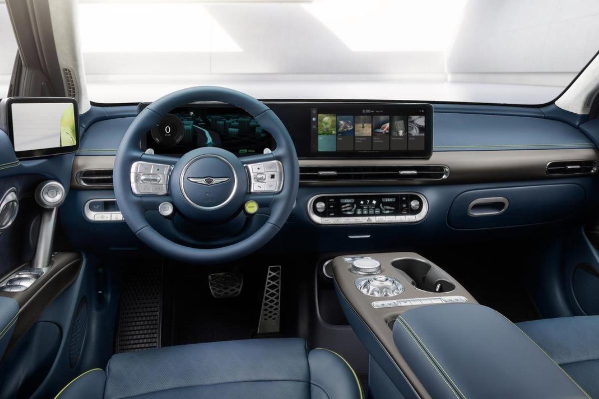 Genesis GV60 nội thất