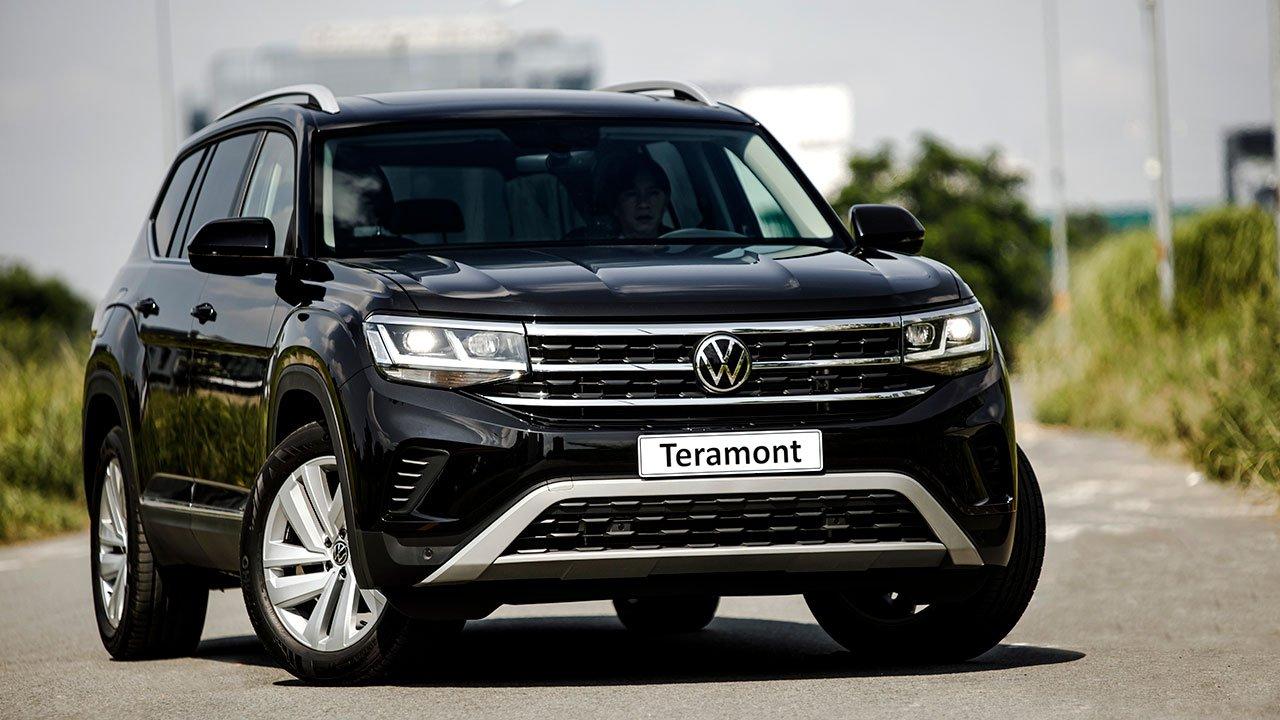 Volkswagen Teramont 2021 ra mắt Lựa chọn mới đấu Toyota Land Cruiser Prado, Ford Explorer a1