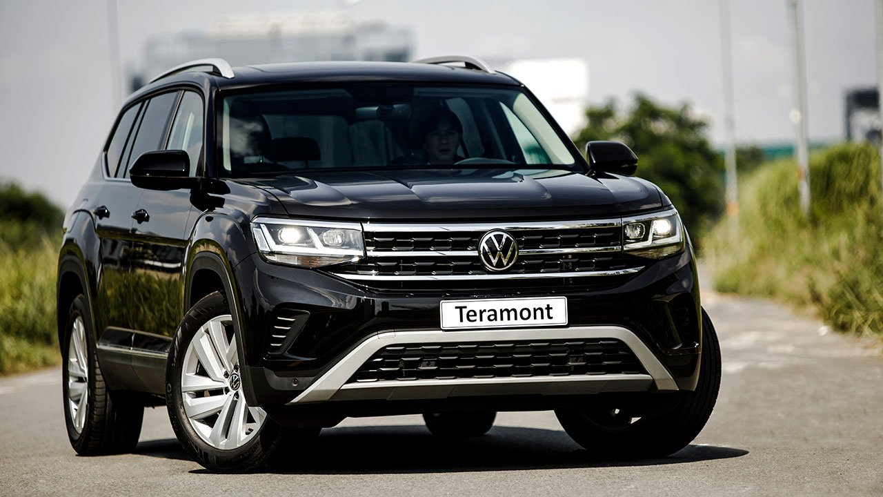 Volkswagen Teramont sở hữu một ngoại hình mạnh mẽ. 1