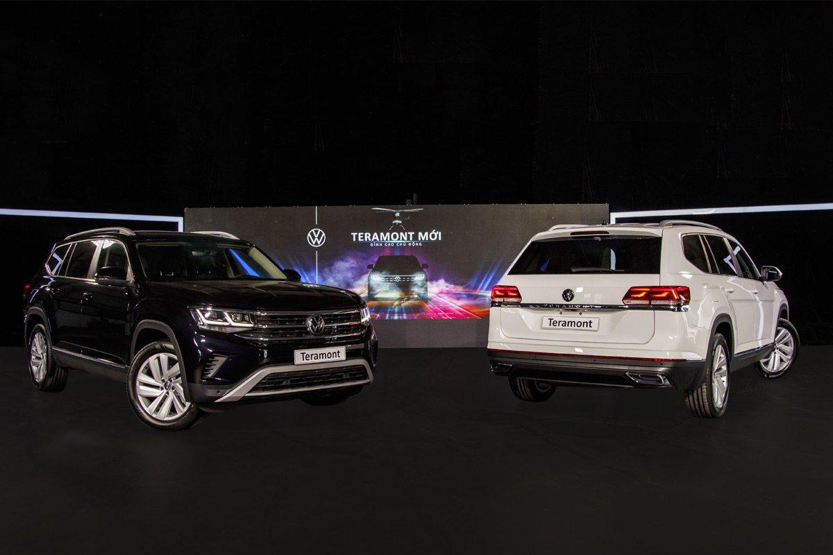Giá lăn bánh Volkswagen Teramont 2021, đối thủ Toyota Land Cruiser Prado tại Việt Nam 1