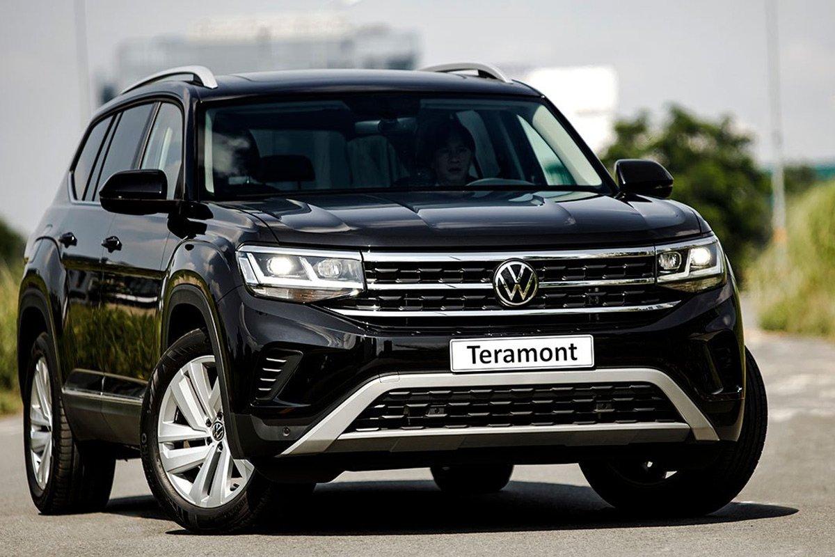 Diện mạo Volkswagen Teramont mới đậm chất SUV.
