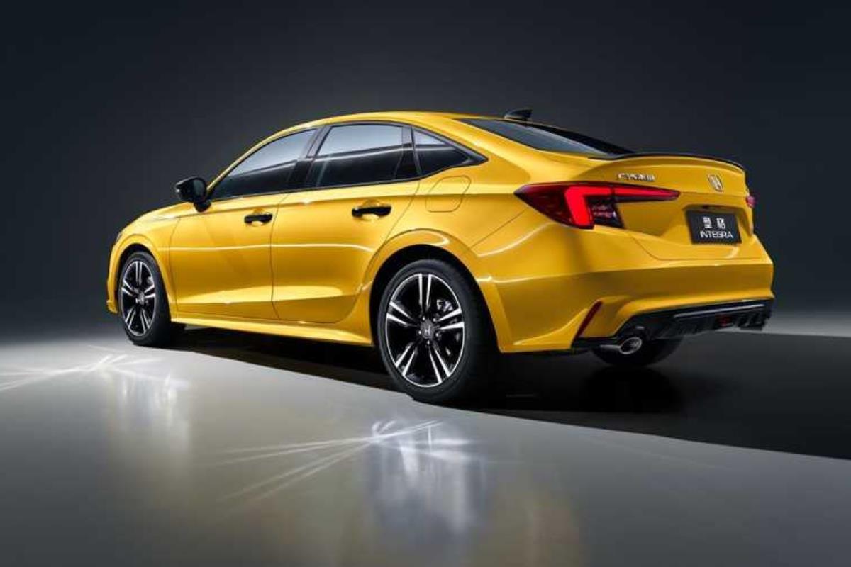 Honda Integra 2022 đuôi xe