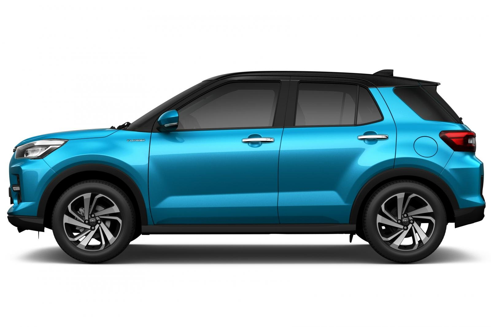 Ngoại thất Toyota Raize.