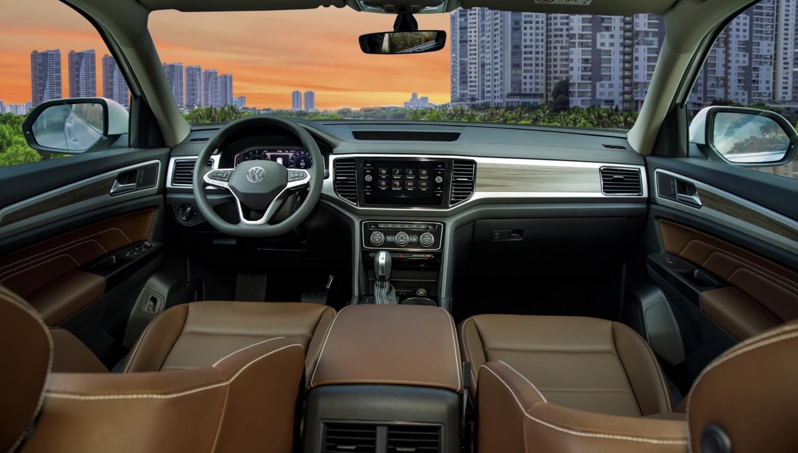 Nội thất Volkswagen Teramont.