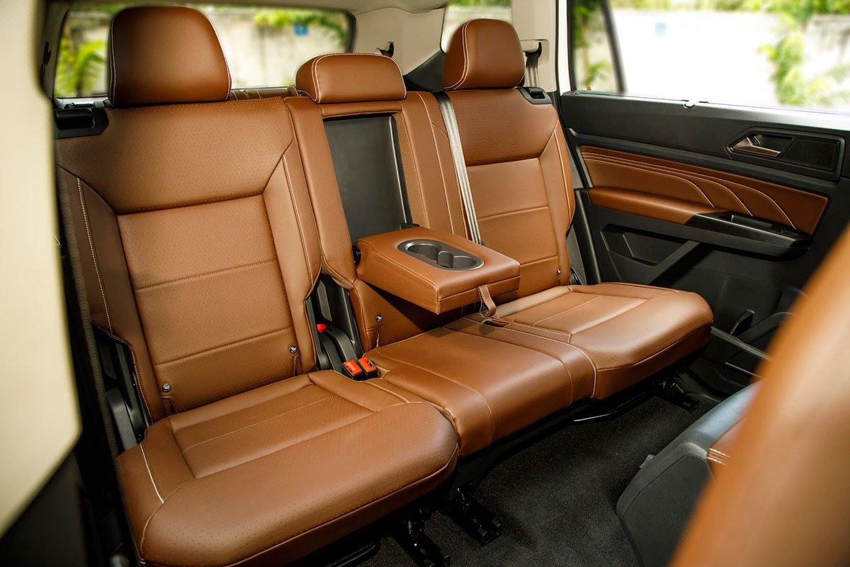 ghế xe Volkswagen Teramont .