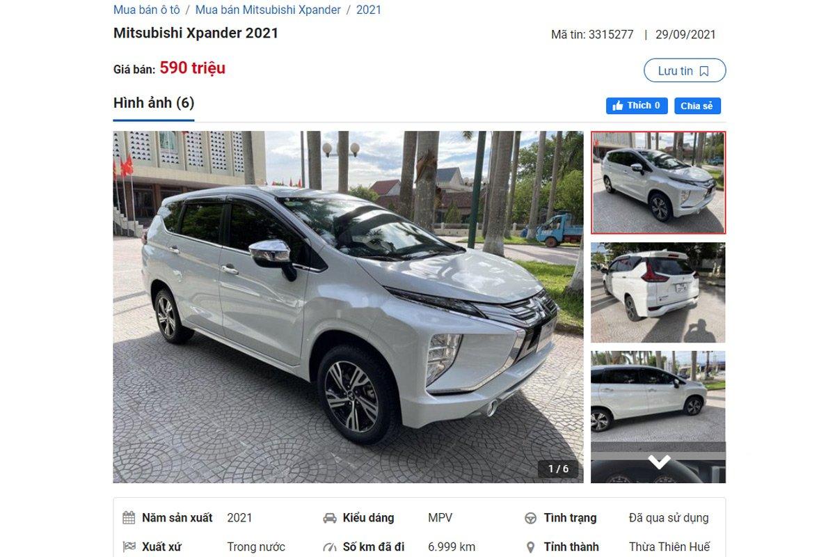 Mitsubishi Xpander 2021 hiện đang được phân phối với 2 phiên bản.