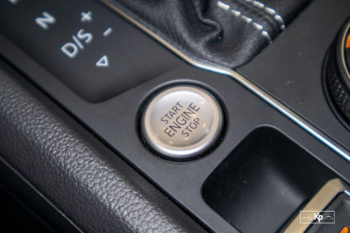 Ảnh Nút khởi động xe Volkswagen Teramont 2021