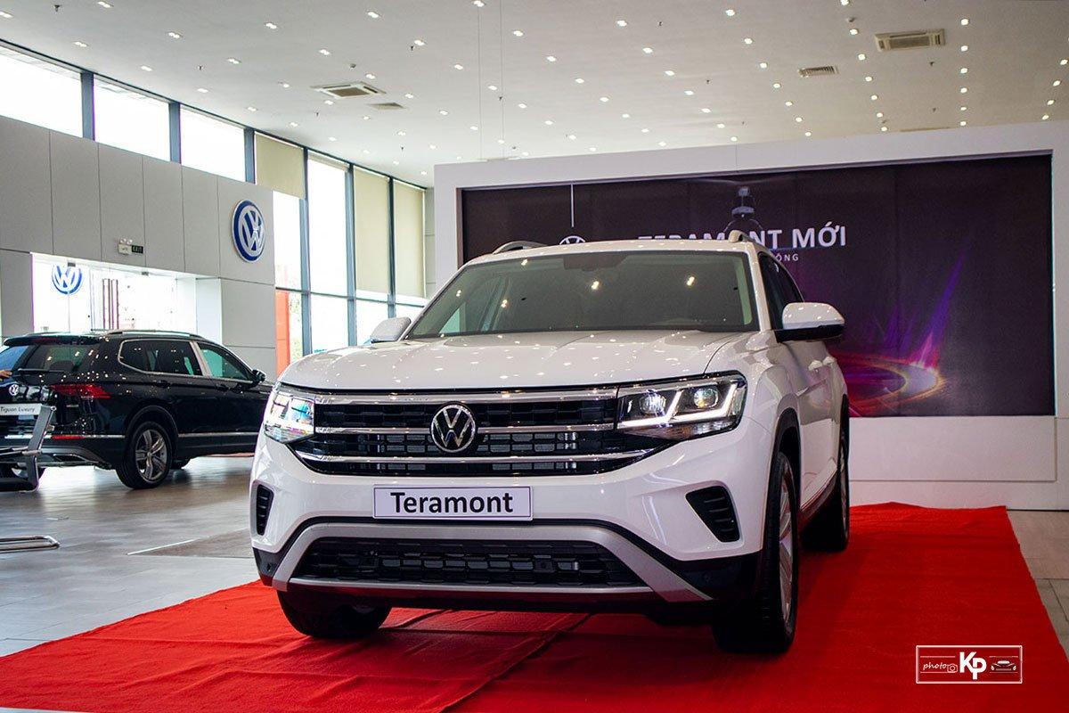 Ảnh Tổng quát xe Volkswagen Teramont 2021