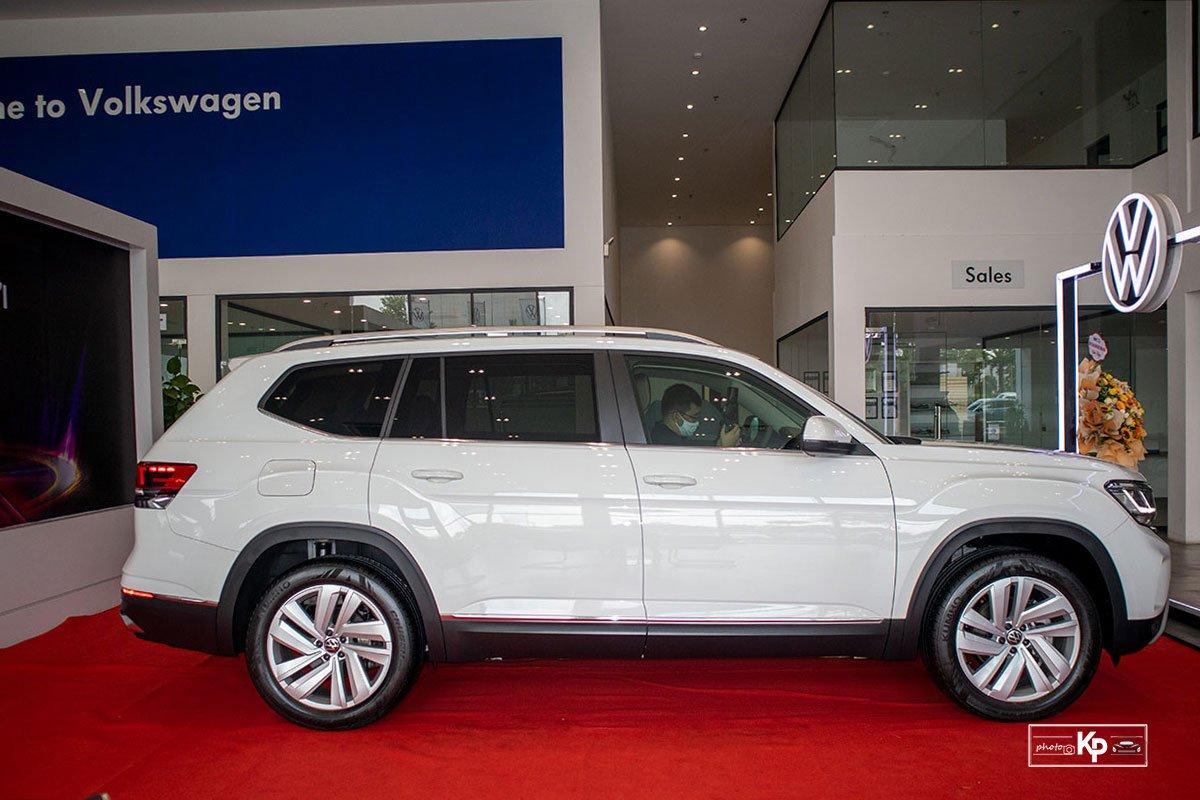 Thân xe Volkswagen Teramont 2021toát lên vẻ nam tính.