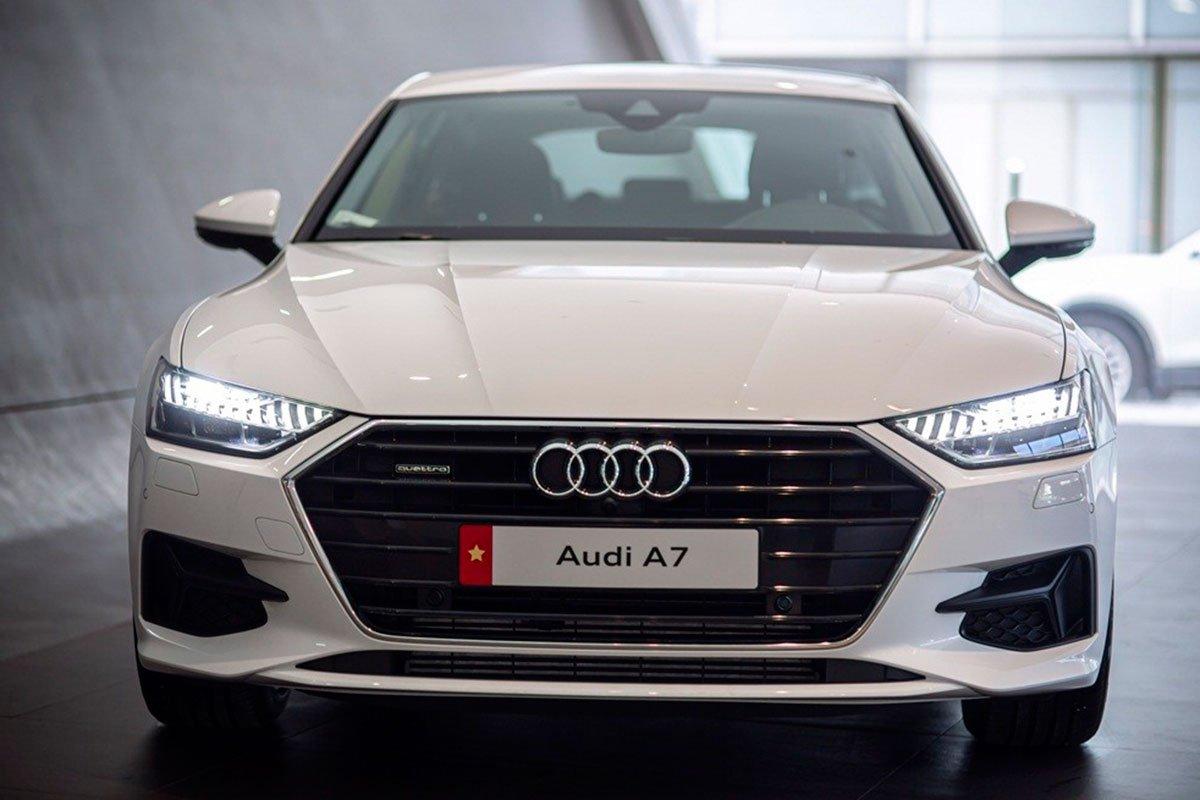 đầu xe Audi A7