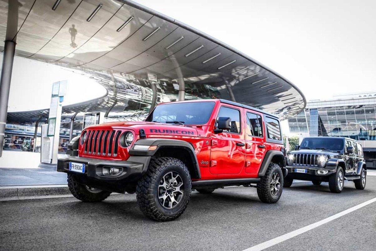 Wranger là dòng SUV địa hình của Jeep nhận được rất nhiều sự quan tâm của người dùng Việt