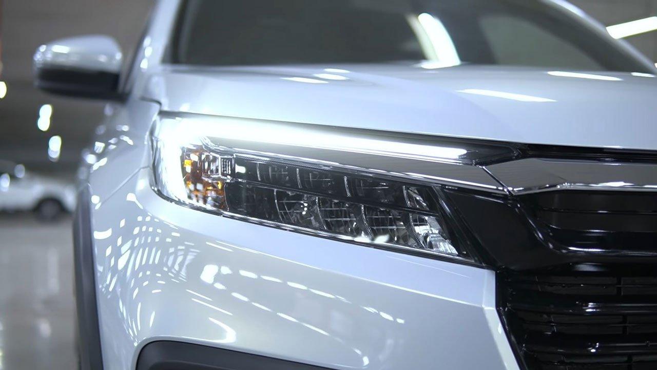 """Cận cảnh Honda BR-V 2022 """"bằng xương, bằng thịt"""": Nhiều trang bị hiện đại đấu Xpander a3"""