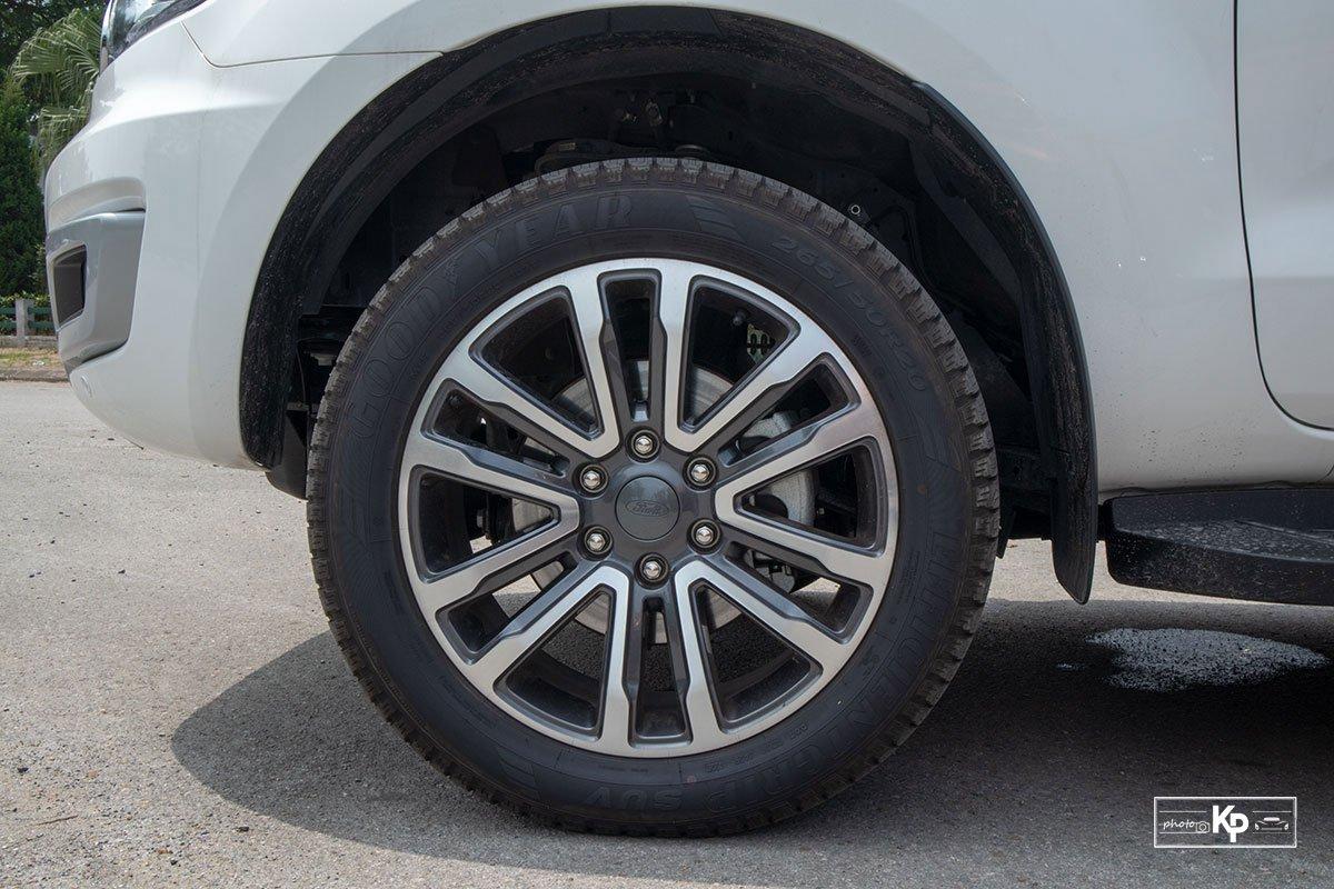 Ảnh La-zăng xe Ford Everest 2021