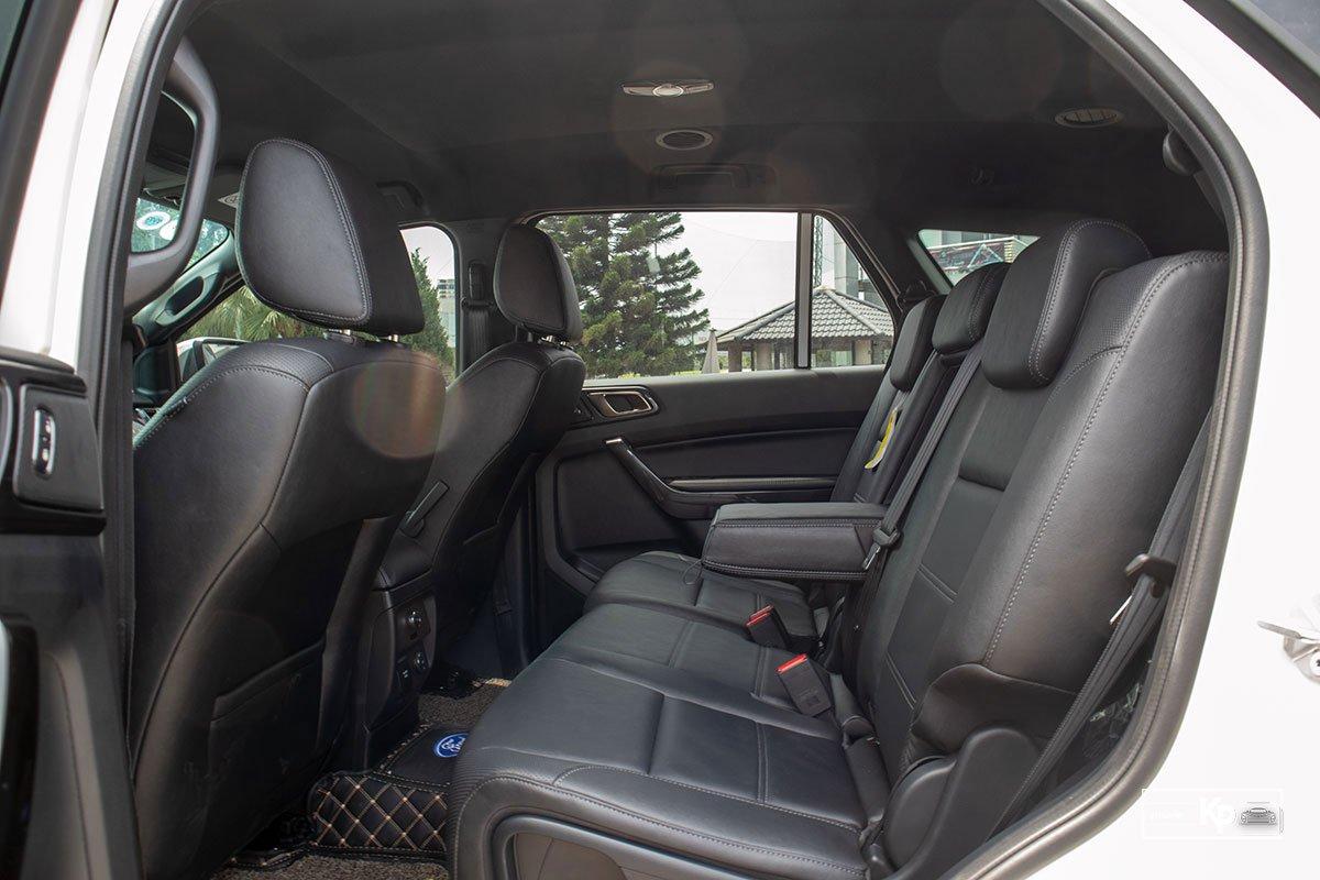 Ảnh Hàng ghế 2 xe Ford Everest 2021