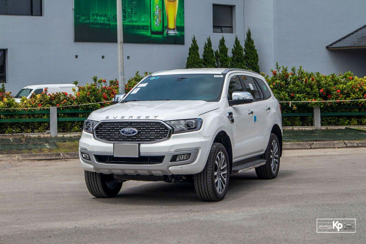 Ảnh Tổng quát xe Ford Everest 2021