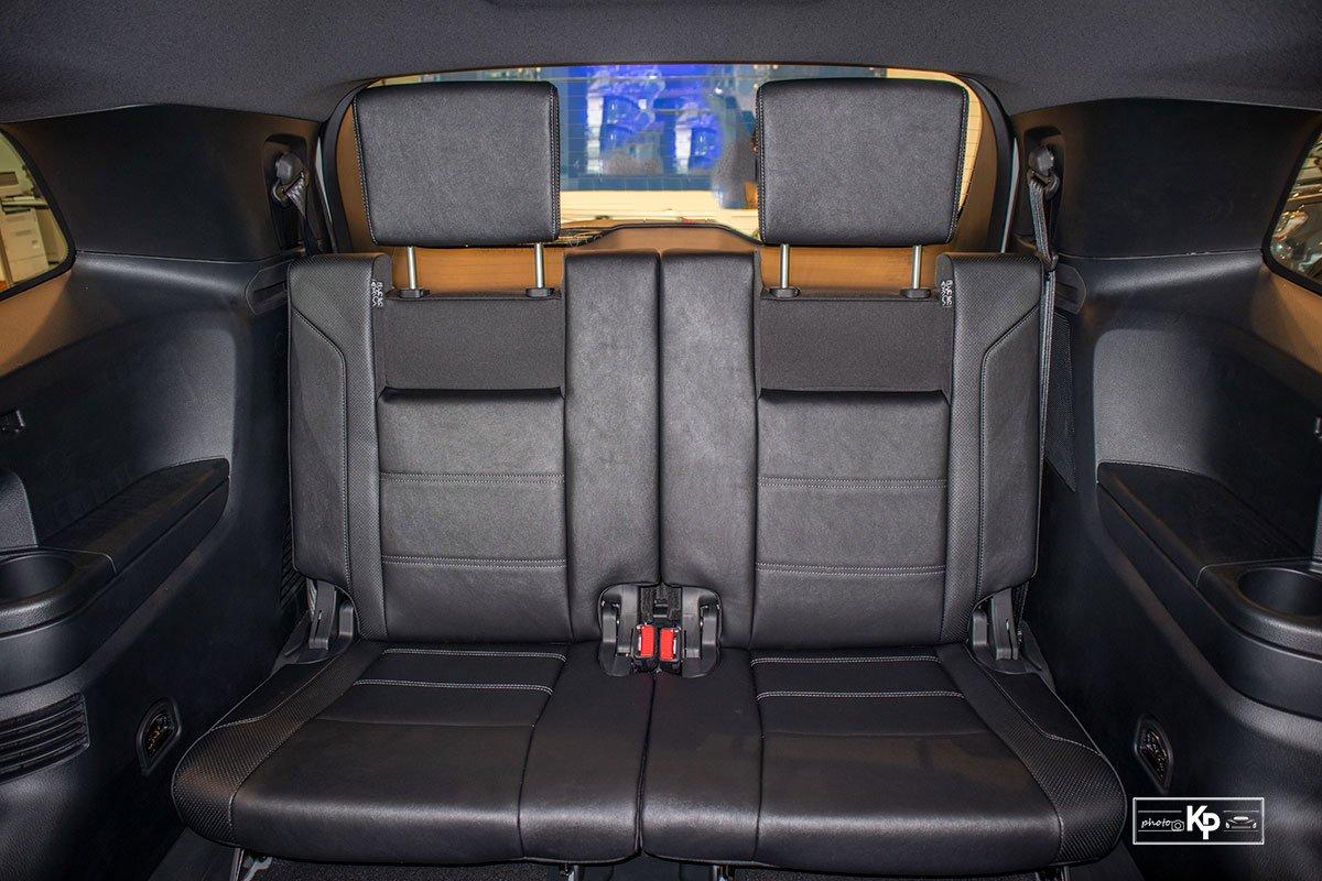 Ảnh Hàng ghế cuối xe Ford Everest 2021