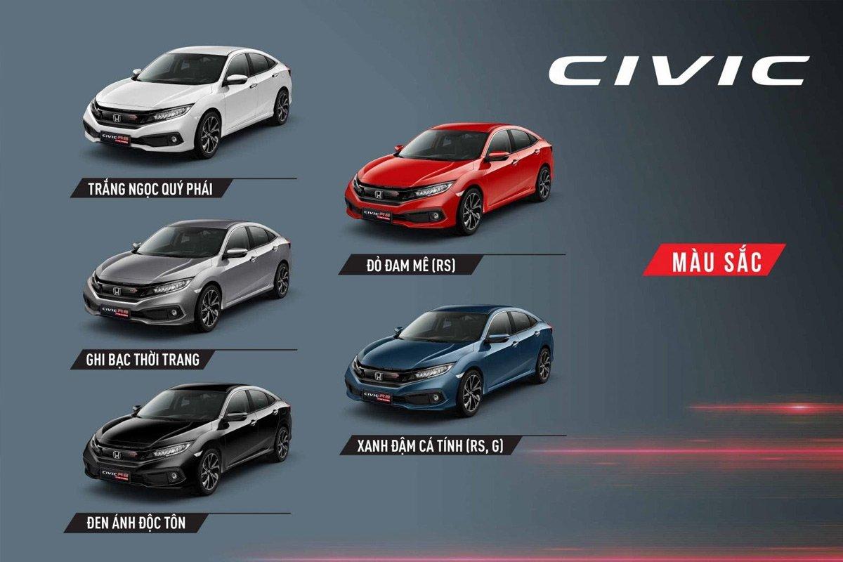 Mua bán xe Honda Civic 2021.