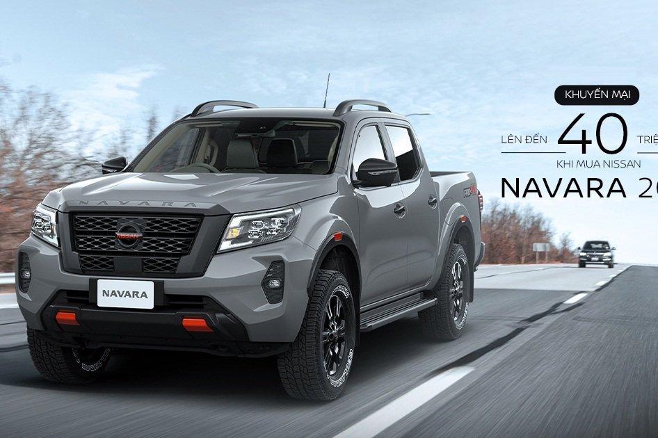 Nissan Navara 2021 tiếp tục ưu đãi 40 triệu, quyết đấu Ford Ranger 1