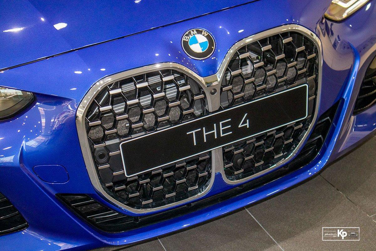 Ảnh Lưới tản nhiệt xe BMW 4-Series 2021