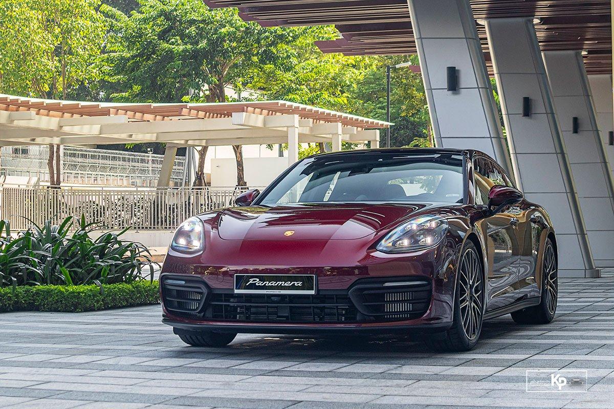 Ảnh Giới thiệu xe Porsche Panamera 2021