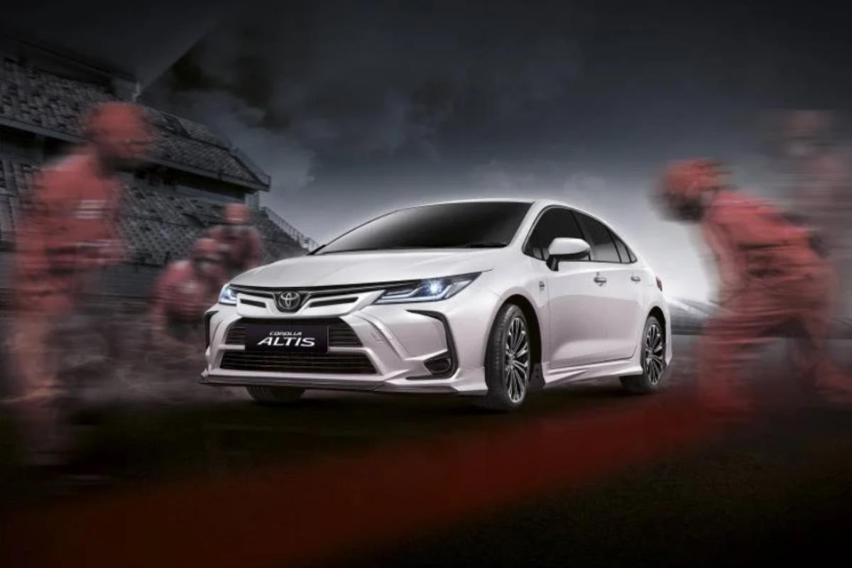 Toyota Corolla Altis Nürburgring