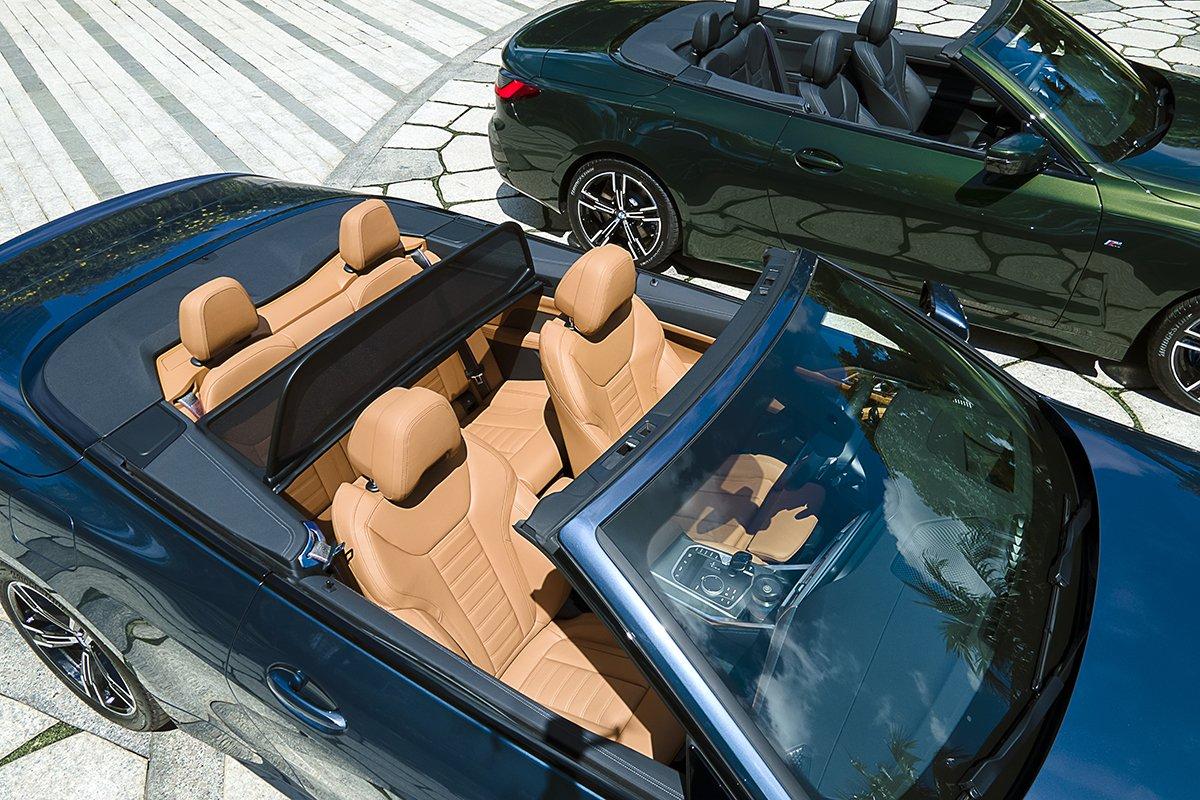 BMW 4 Series mui trần.