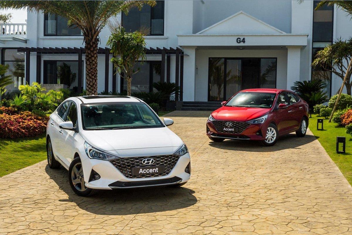Giá xe Hyundai Accent cũ tại Oto.com.vn.