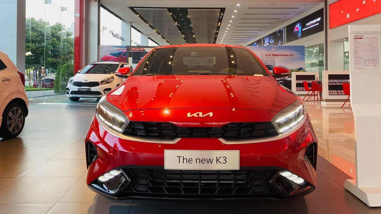 Ảnh thực tế KIA K3 2022 đủ màu về đại lý Việt, vẫn là hàng hot trong phân khúc hạng C a1