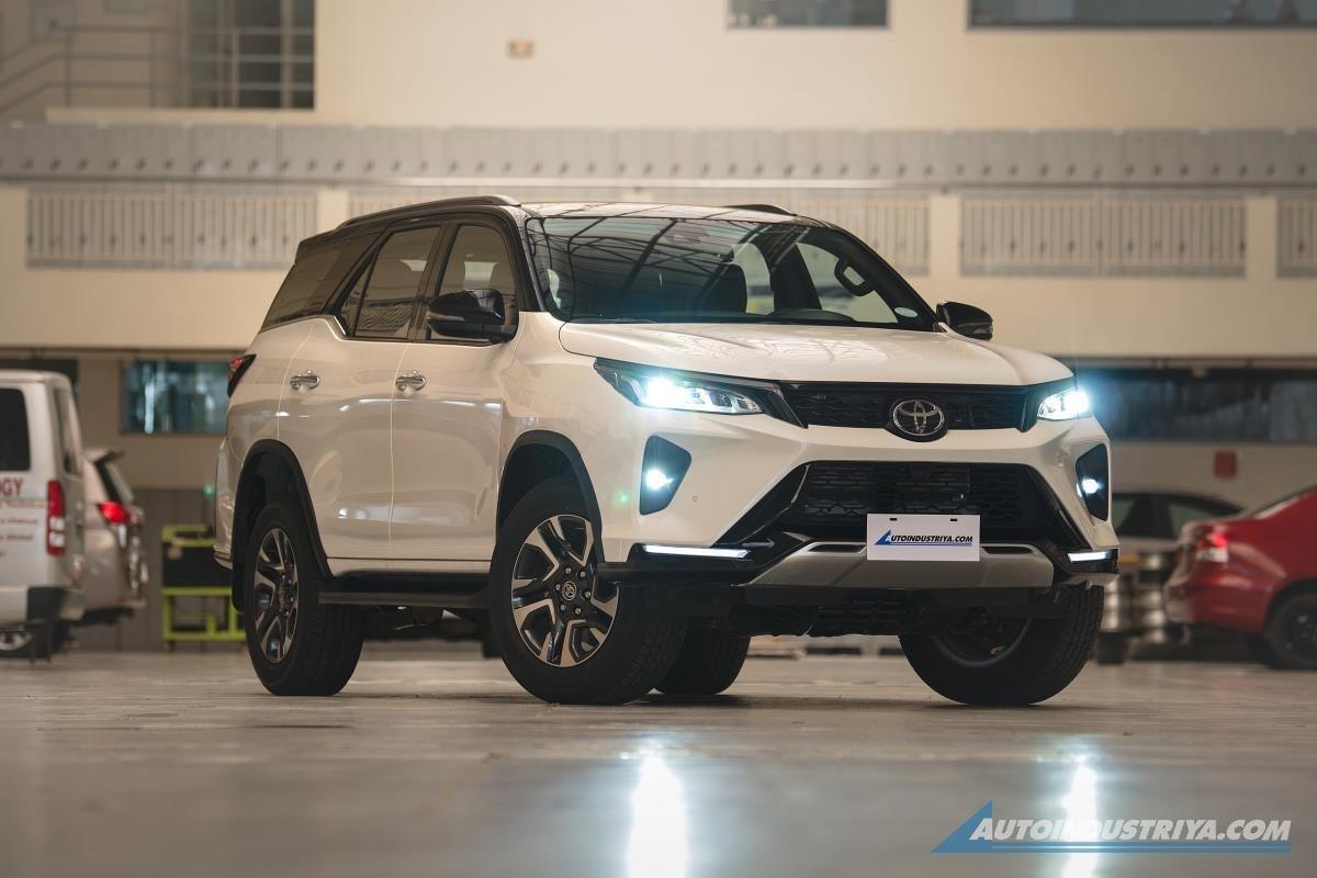 Toyota Fortuner  2022 đã vén màn tại Philippines vào cuối tháng 9 vừa qua. 1