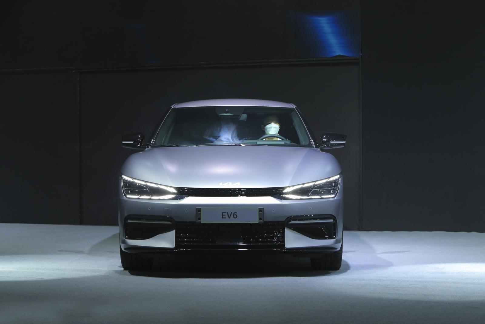 Mẫu xe điện của Hàn Quốc sử dụng chung nền tảng E-GMP với Hyundai Ioniq 5. 1