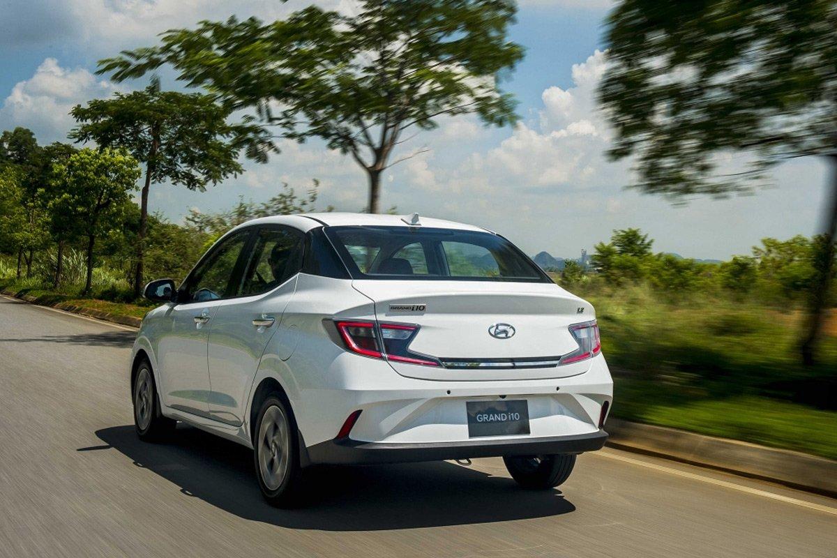 Hyundai Grand i10 hiện là mẫu có mức giá bán rẻ nhất trong các dải sản phẩm ô tô của TC Motor.