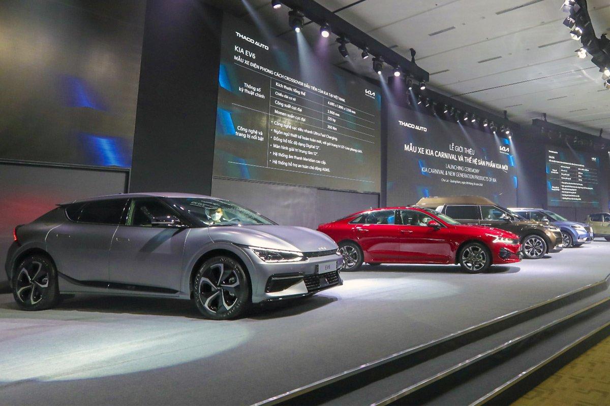Xem trước loạt xe KIA hoàn toàn mới sẽ đổ bộ thị trường Việt trong năm 2022.