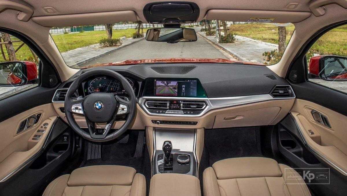 BMW 320i đang bán tại Việt Nam thuộc thế hệ thứ 7 (G20) 1