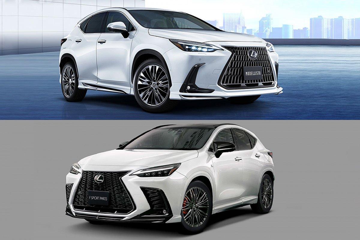 Bộ phụ kiện TRD và Modellista cho Lexus NX.
