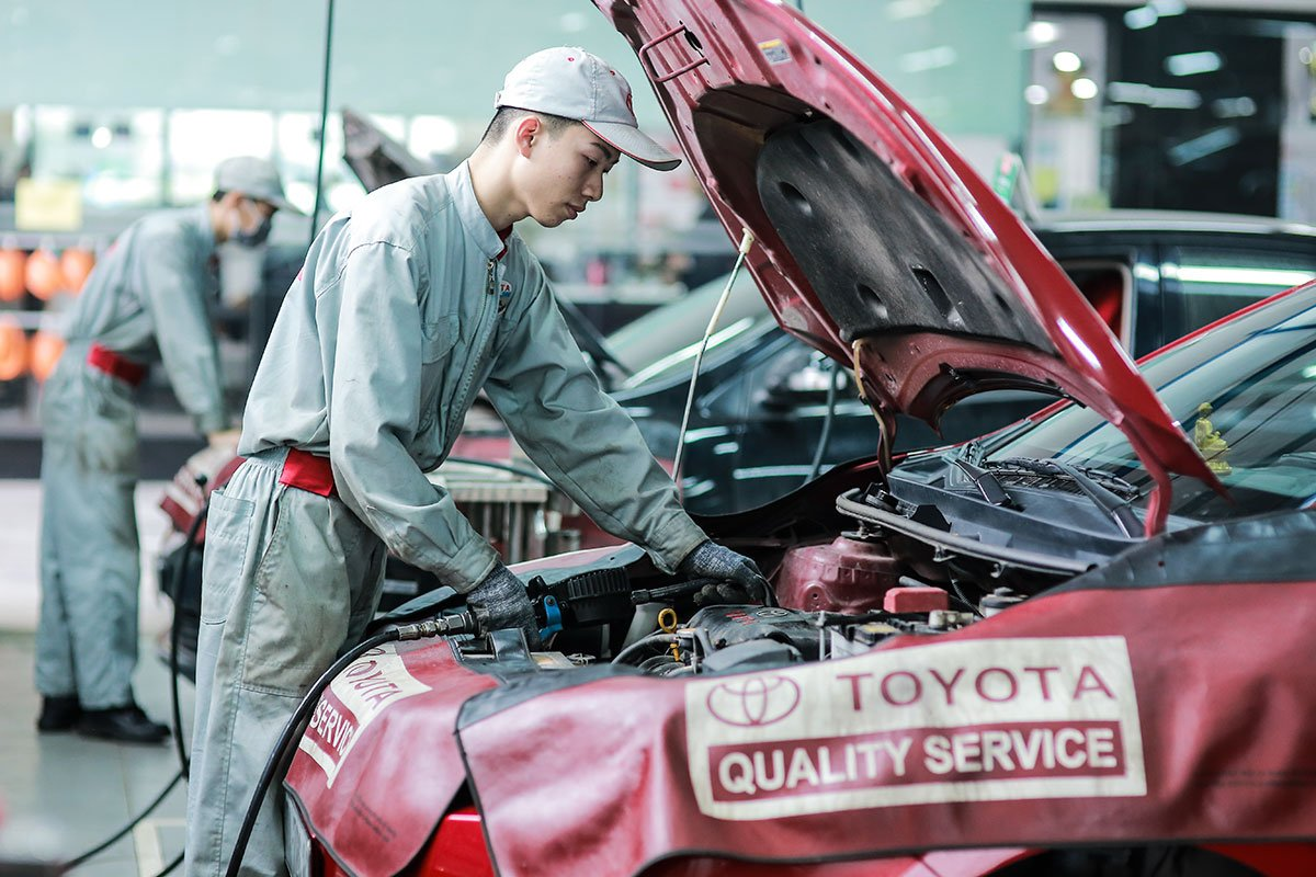 Chương trình Xe khoẻ mùa dịch của Toyota Việt Nam.