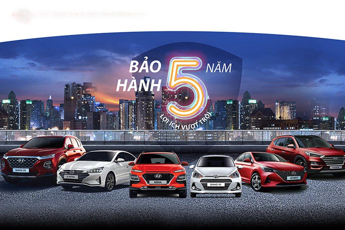 Giá xe Hyundai mới cập nhật trên thị trường.