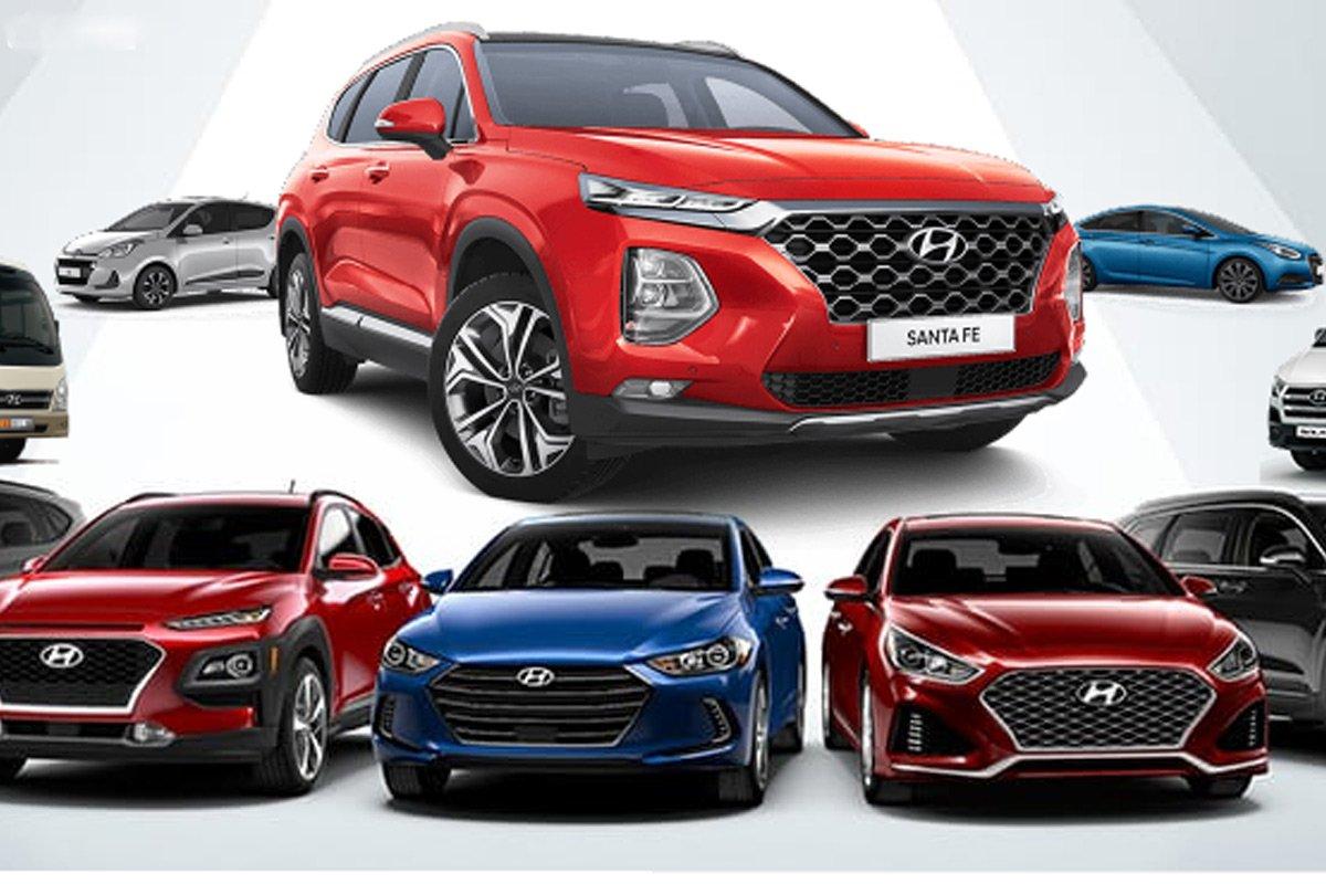 Giá xe Hyundai mới.