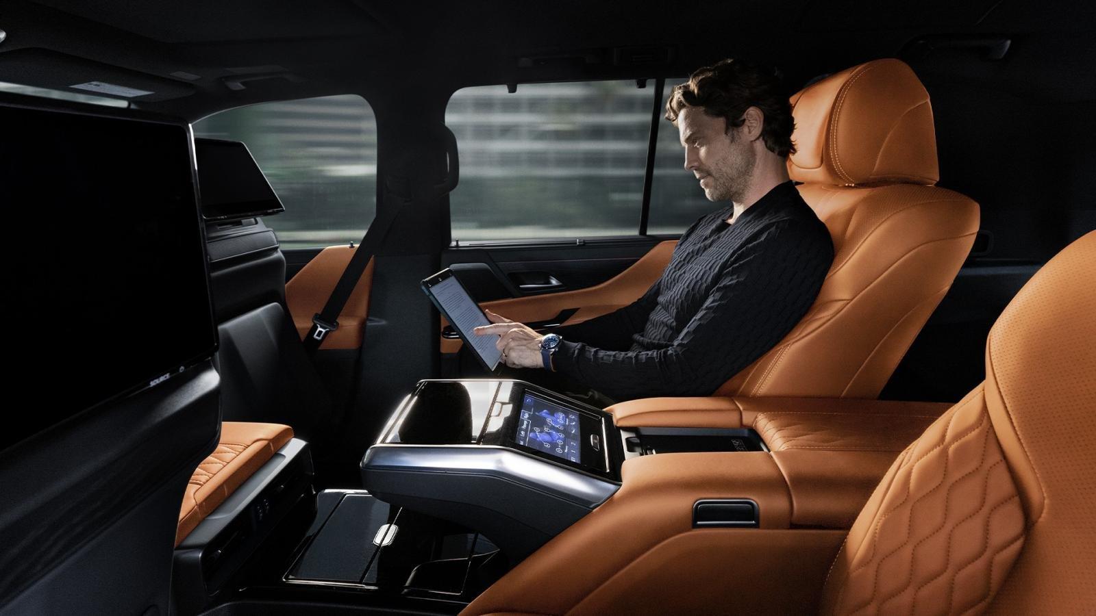 Lexus LX 2022 ra mắt 4.