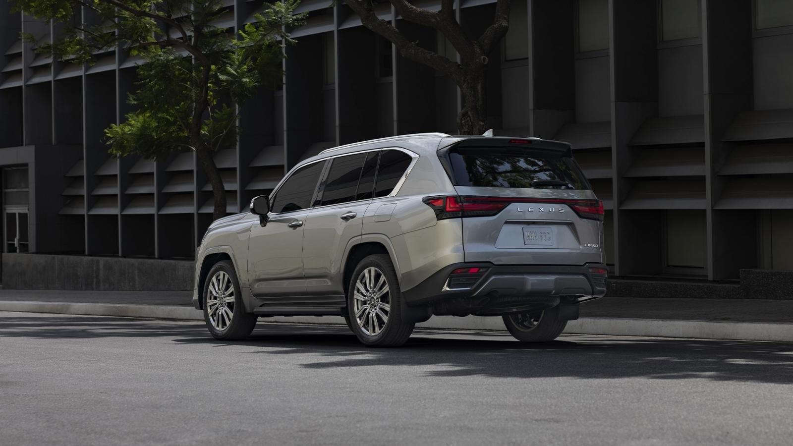 Lexus LX 2022 ra mắt 1.