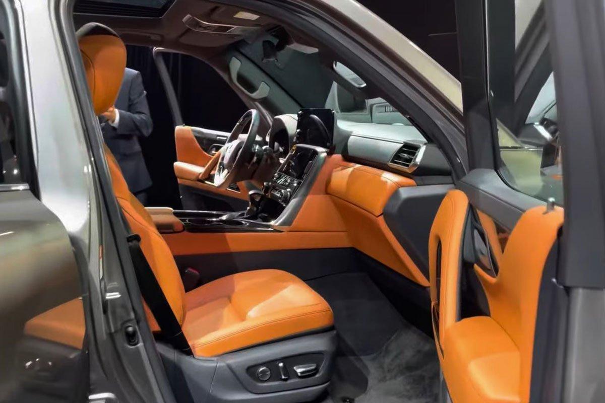 Ảnh thực tế Lexus LX600 2022 Thay đổi xứng tầm, sẽ về Việt Nam trong năm tới a9