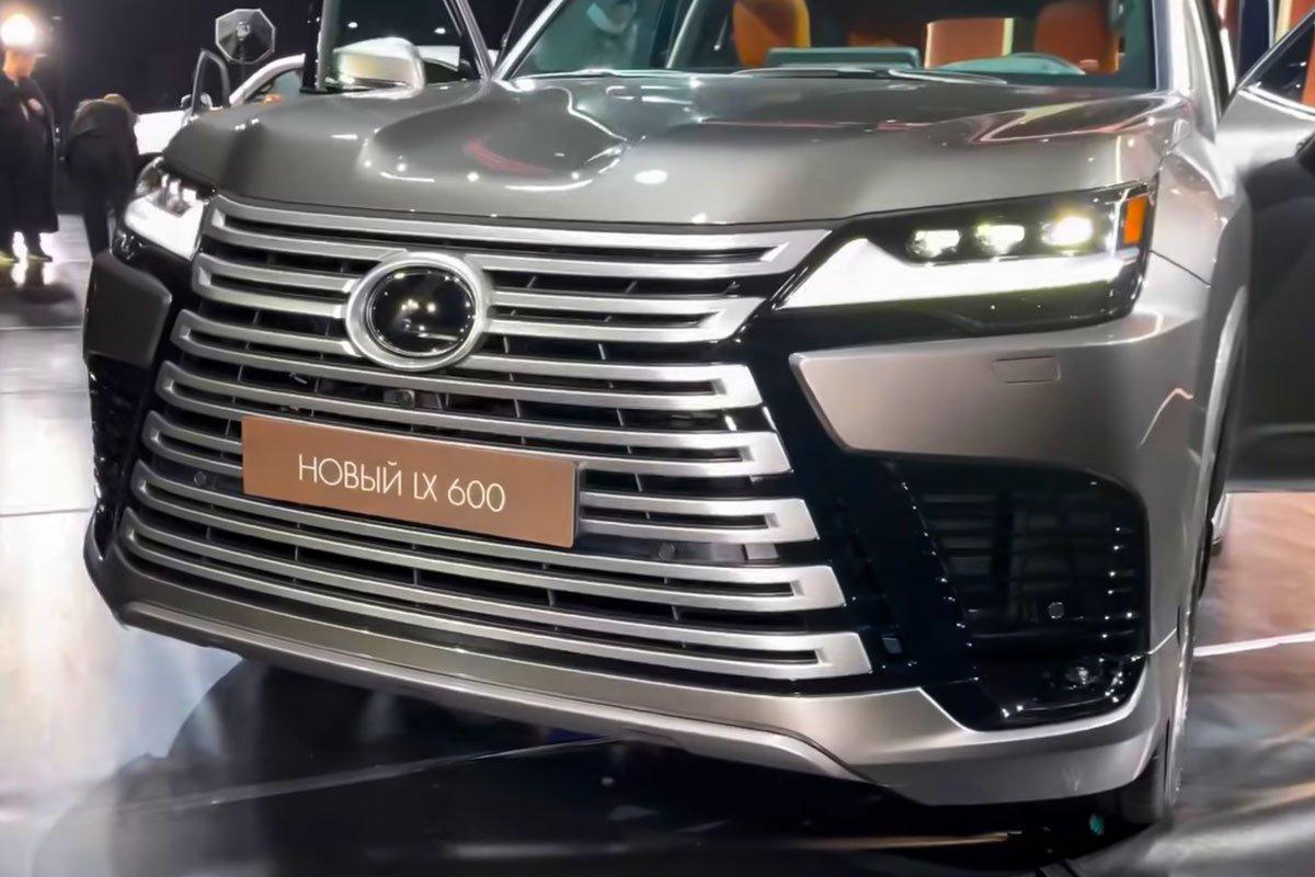 Ảnh thực tế Lexus LX600 2022 Thay đổi xứng tầm, sẽ về Việt Nam trong năm tới a3