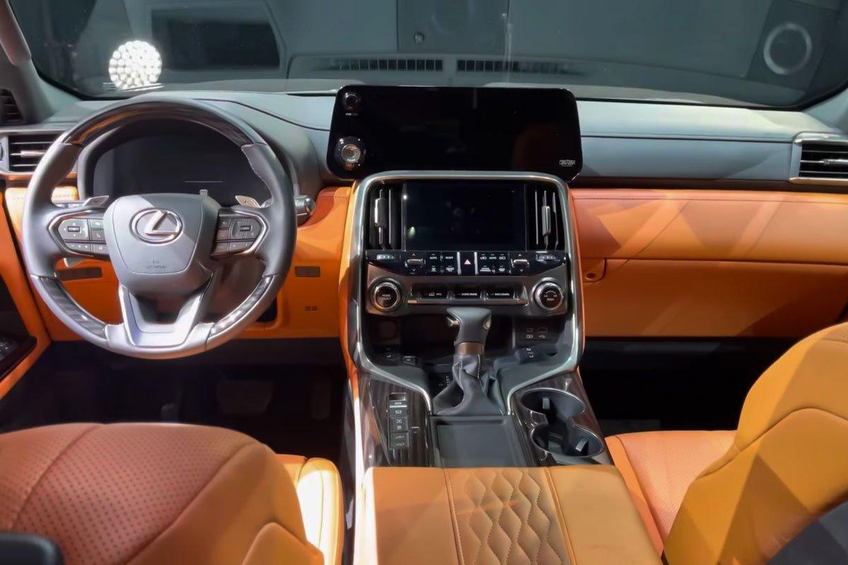 Ảnh thực tế Lexus LX600 2022 Thay đổi xứng tầm, sẽ về Việt Nam trong năm tới a6