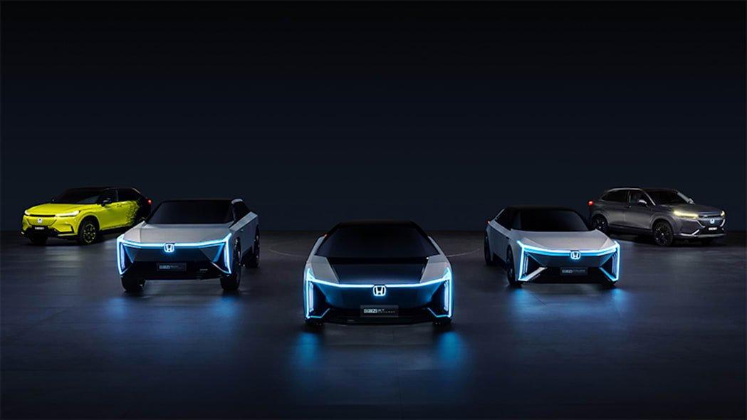 Honda ra mắt thương hiệu phụ cho xe điện tại Trung Quốc.