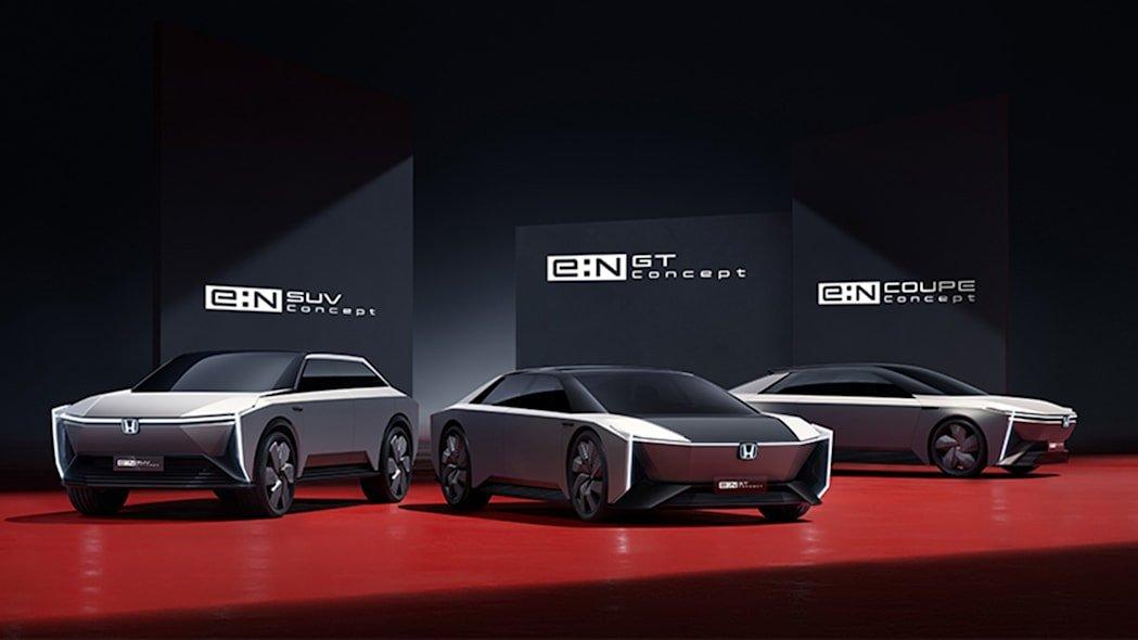 Bộ 3 concept xe điện của Honda.