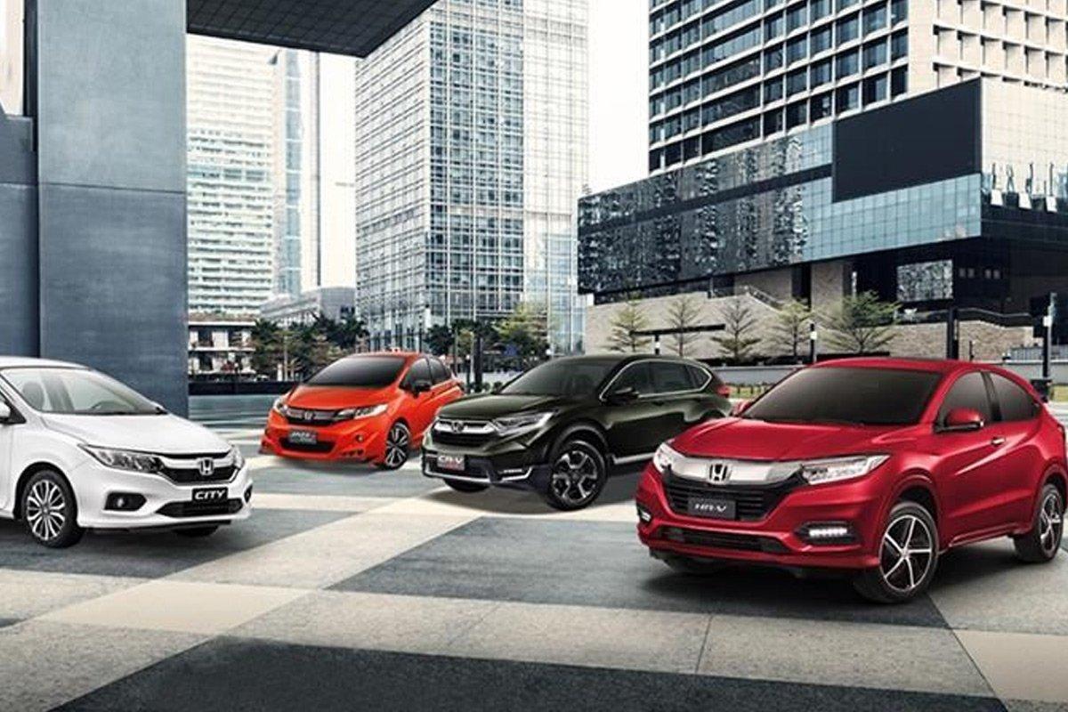 Gía bán xe Honda mới.