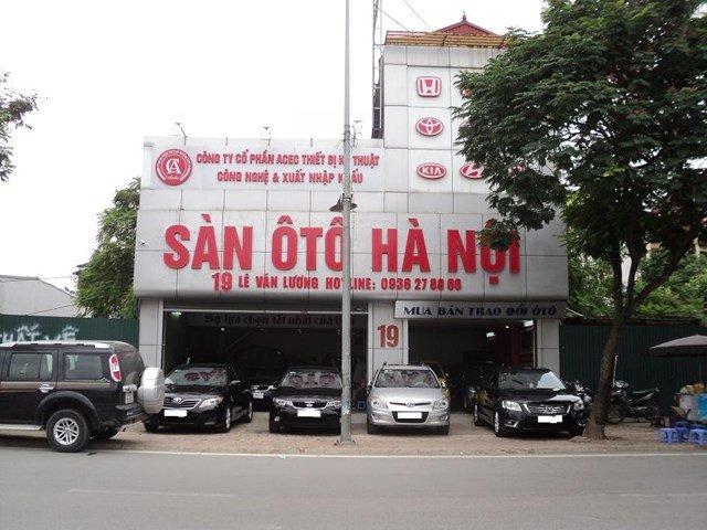 Sàn ô tô Hà Nội (1)