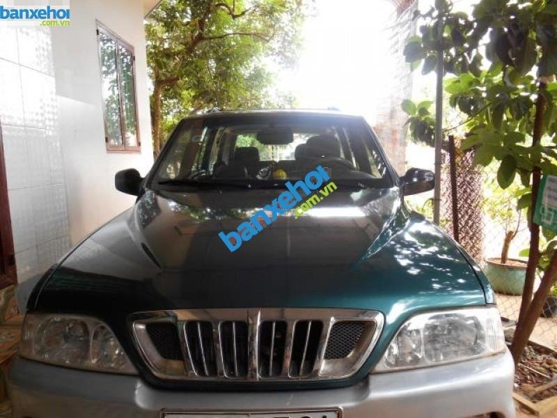 Xe Ssangyong Musso  2001-0