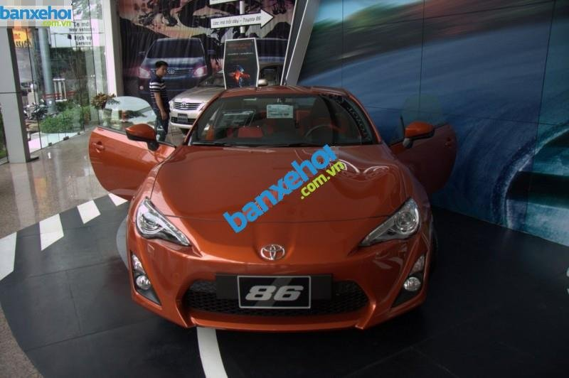 Xe Toyota FT 86  2014-1