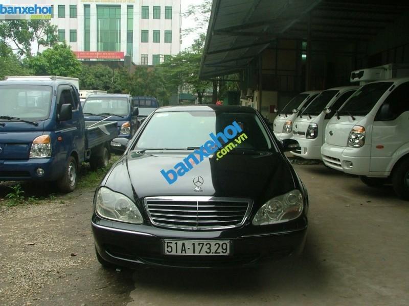 Xe Mercedes-Benz S class 320 CDI 2004-0